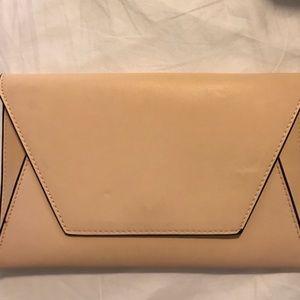 Zara Nude clutch